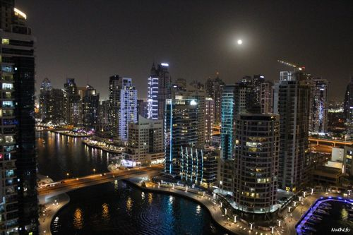 Dubai by night Oct-2020